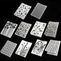 Пластиковый шаблон для изготовления карточек, бумажных карточек, 1 шт., фотоальбом, свадебное украшение, папка для тиснения и скрапбукинга