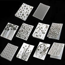 Plastic Template Craft Card Making Paper Cards 1Pcs Photo Album Wedding Decoration Scrapbooking Embossing Folder(China)