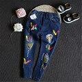 2016 новый осень девушки джинсы детские джинсы девушки леггинсы дети леггинсы детей штаны детей брюки карандаш брюки B-BC-K098