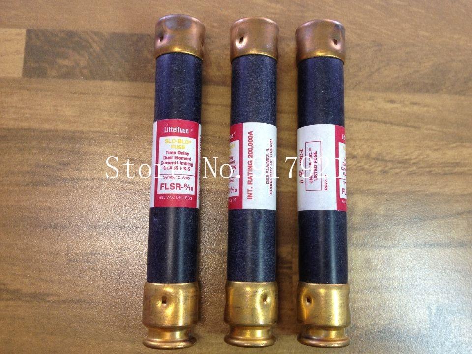 [ZOB] The United States Litteituse FLSR-6/10 600VCLASS RK-5 FUSE Lite fuse tube  --2pcs/lot напильник united states nicholson nicholson 10 06034