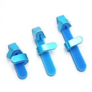 Image 3 - 3 Maten Verstelbare Medische Legering Spalk Vinger Multiplex Gezamenlijke Gemonteerd Revalidatie Vinger Orthese Hand Orthopedische