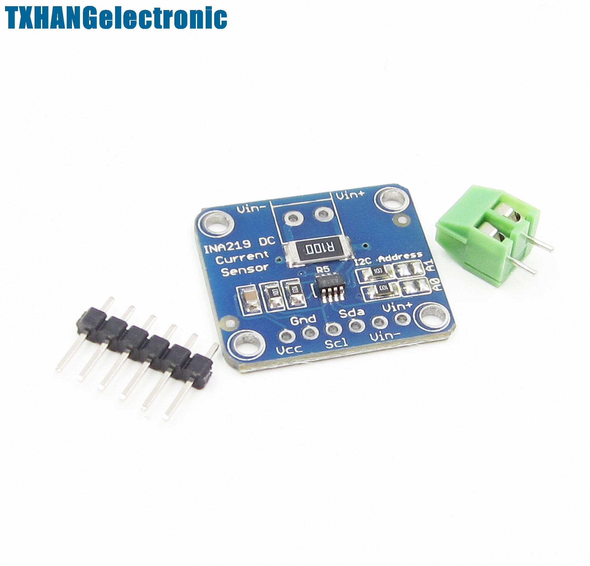 Ina219 Gy 219 Bi Direction Dc Current Power Supply Breakout Sensor Of In A Circuit Module Diy Integrated Circuits From Electronic Components Supplies On