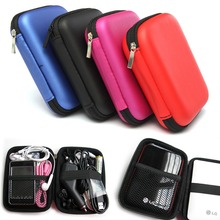 "Hot 2.5"" External USB Hard Drive Disk HDD Carry Case Cover Pouch Bag For PC Laptop"