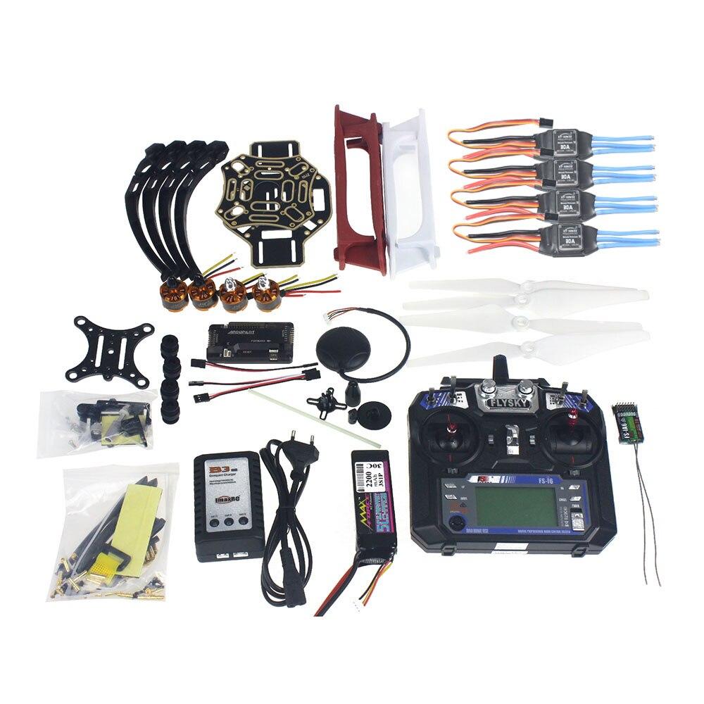 F02192-X kit completo rc zangão quadrocopter kit de aeronaves F450-V2 quadro gps apm2.8 controle vôo câmera cardan ptz
