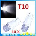 10X168 194 501 501 W5W Car LED Light Side Painel Estilo Do Carro Auto xenon Lâmpadas Wedge Luz T10 Bulbo branco estacionamento