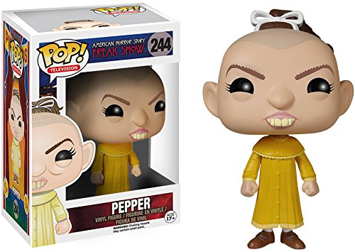 Original Funko pop American Horror Story 4 Freak Show - Pepper Vinyl Figure Collectible Model Toy with Original box limited edition original funko pop dc universe green lantern the arrow vinyl figure collectible model toy with original box