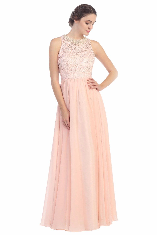 Sexy Gasa Que Rebordea Baile Vestidos Largos Para Adolescentes 2017 Sin  Respaldo Partido de Tarde del cordón Ombre Vestido Para la Graduación Robe  De Bal