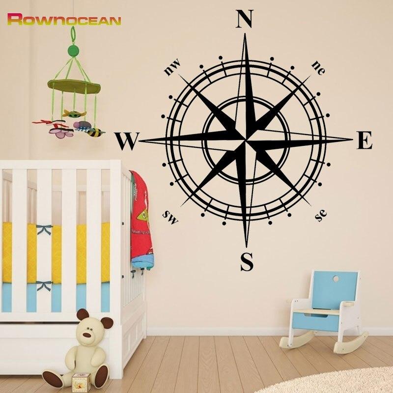 Yeni il 2017 dənizkənarı ev dekorasiya kompas sənət otaqları - Ev dekoru - Fotoqrafiya 4