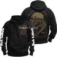 HOT NEW Black Sabbath World Tour Heavy Metal CLASSIC METAL Black 100 Cotton Hoodie