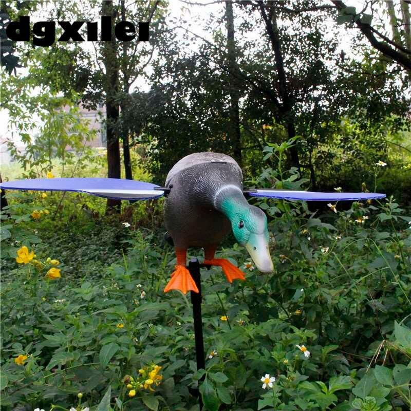 Duck Decoy Plastic Motorized Duck Decoys For Hunting With Remote Control plastic motorized duck garden decor with remote