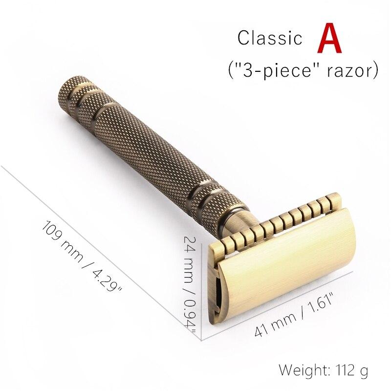 Quels sont les rasoirs vintage ou actuels avec une finition dorée/plaquée or/cuivre/laiton ? HTB15SbZldbJ8KJjy1zjq6yqapXaZ