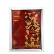 Feng Shui 9 Deity Invocation Tablet W1624
