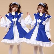 Hot Sale Lolita 2017 summer dress female bow long-sleeve Slim dress was thin ribbon Korean version Princess Dress w342