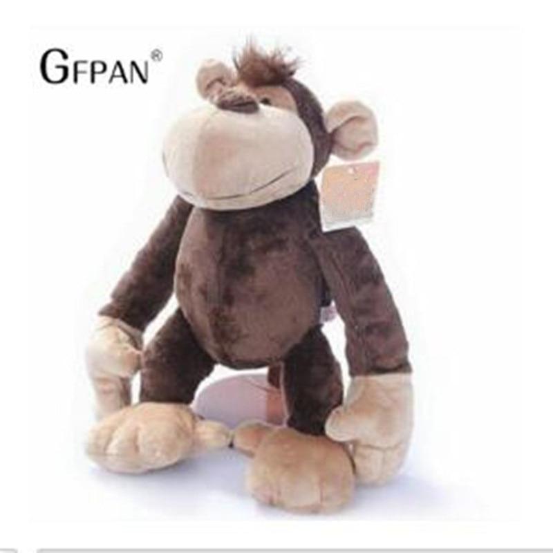 1pcs 22cm Lovely  Monkey Stuffed Animals Soft Doll Plush Toy Stuffed Toys High Quality Birthday Gift For Children Kids