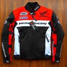 Бесплатная доставка, 1 шт. Для мужчин Мотокросс ветрозащитный хлопок лайнер Костюмы мотоцикл защиты для верховой езды мотоциклетная куртка с 5 шт. колодки