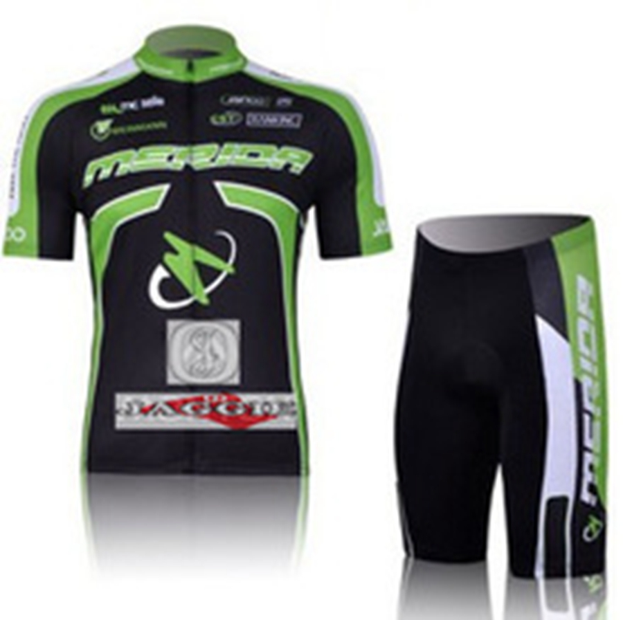 MERIDA team cycling jersey Pro Mtb Shorts  jersey short sleeve pants bike bicycle riding wear set 3D Silicone! arsuxeo breathable sports cycling riding shorts riding pants underwear shorts