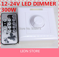 Dimmerabile infrared remote controller DC 12 V 24 V 300 W 8A IR LED Dimmer Switch Per E14E27 GU10 Dimmerabile spot Luci Spot