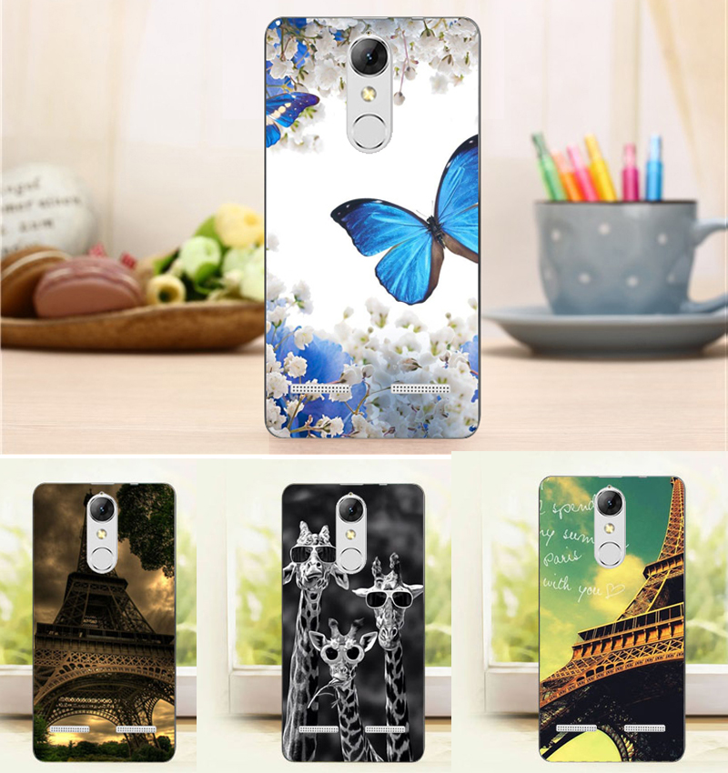 Case Design top rated phone cases : ... Cartoon Flower Tower Pattern Case For Lenovo K6 K 6 5.0u0026quot; Top Quality
