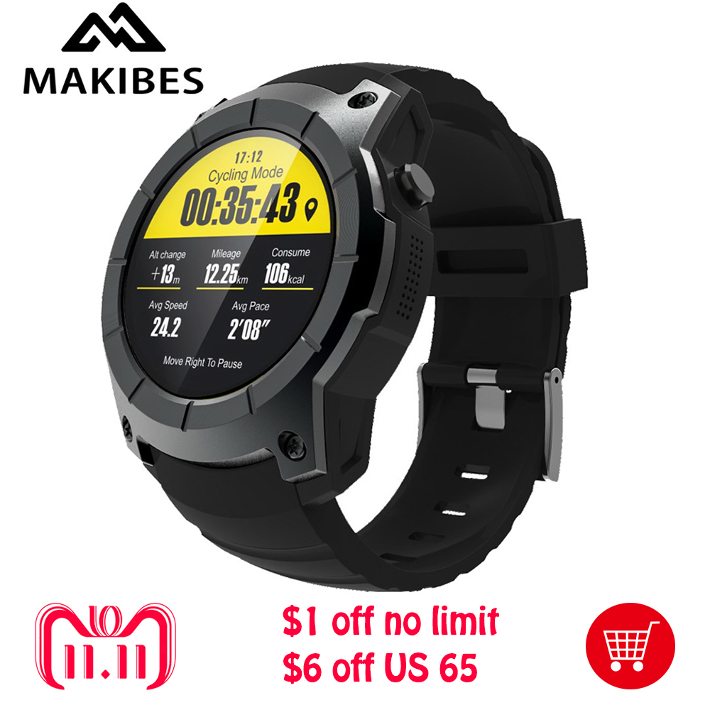 Makibes G05 GPS Bluetooth 4.0 Smart watch MTK2503 32GB TF SIM card SMS Reminder siri Multi-mode Sports Monitoring Wristwatch siri