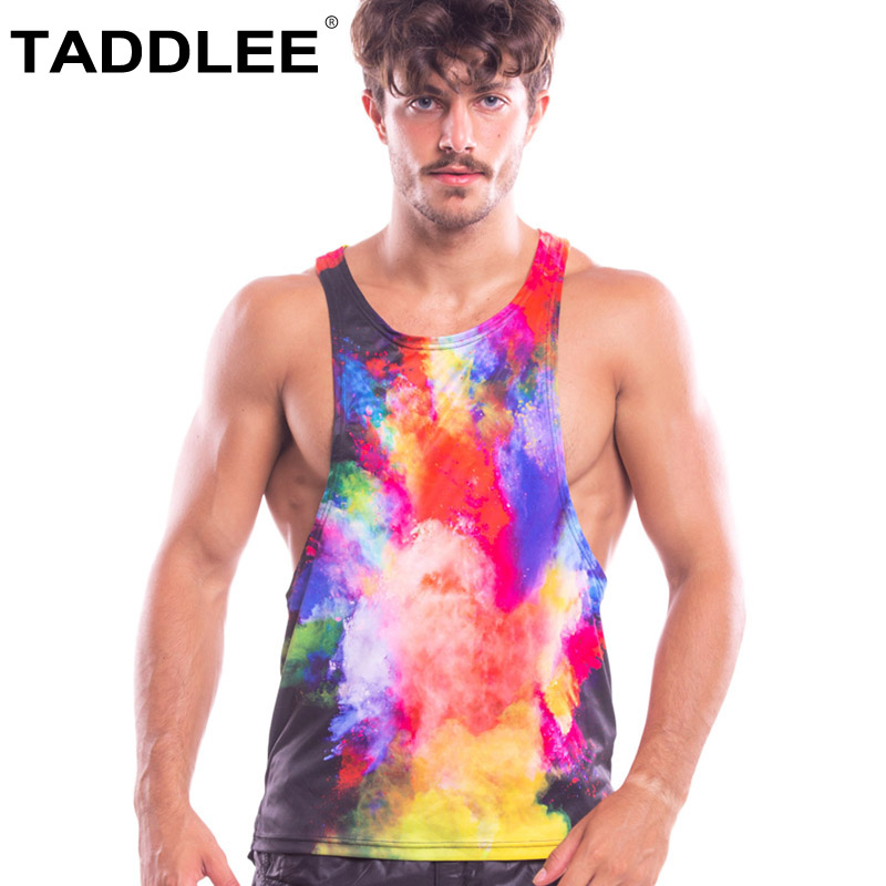 Taddlee flambant neuf hommes débardeur t-shirts sans manches maillots de bain Gym Muscle Gasp filons Singlets Fitness musculation gilet