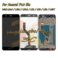 5.2 ''dla Huawei P10 lite WAS-L22J / LX2J / LX1A / LX1 / LX2 / LX3 / L03T wyświetlacz LCD ekran dotykowy Digitizer montaż z ramą