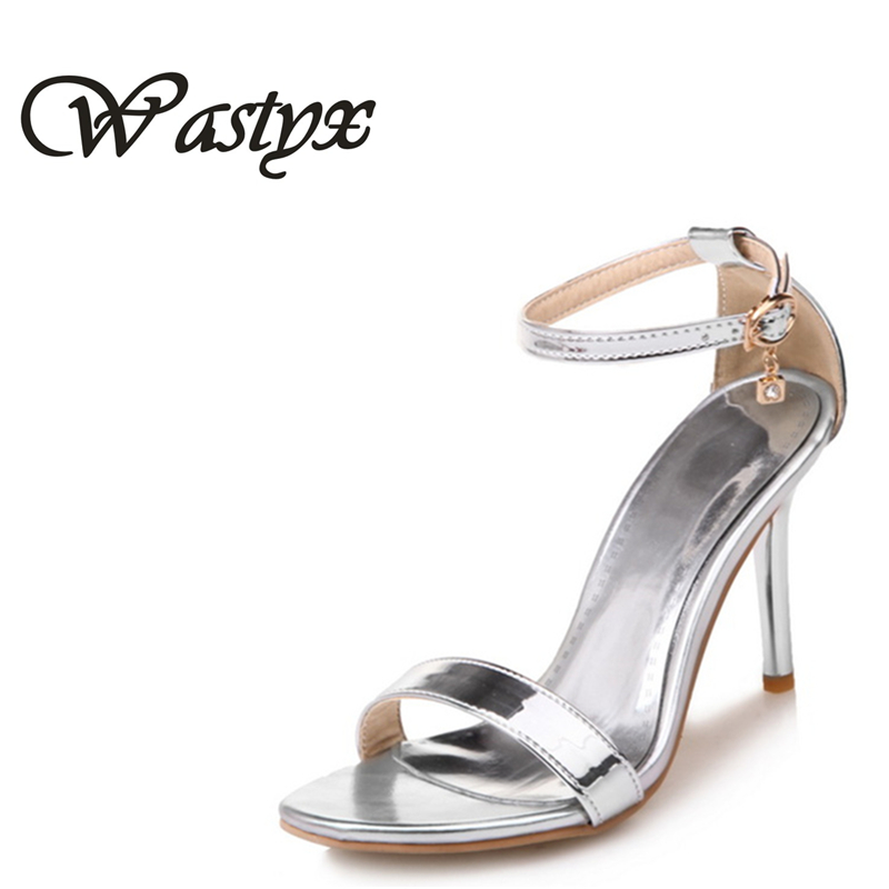 Big size 34-50 Woman Sandals 2017 High Heels shoes Women Ankle Strap Summer Dress Shoes Open Toe Ruffles High Heel Sandals Red silicone boost turbo hose kit fit for mitsubishi evo evolution 10 x 4b11 mk10 blue