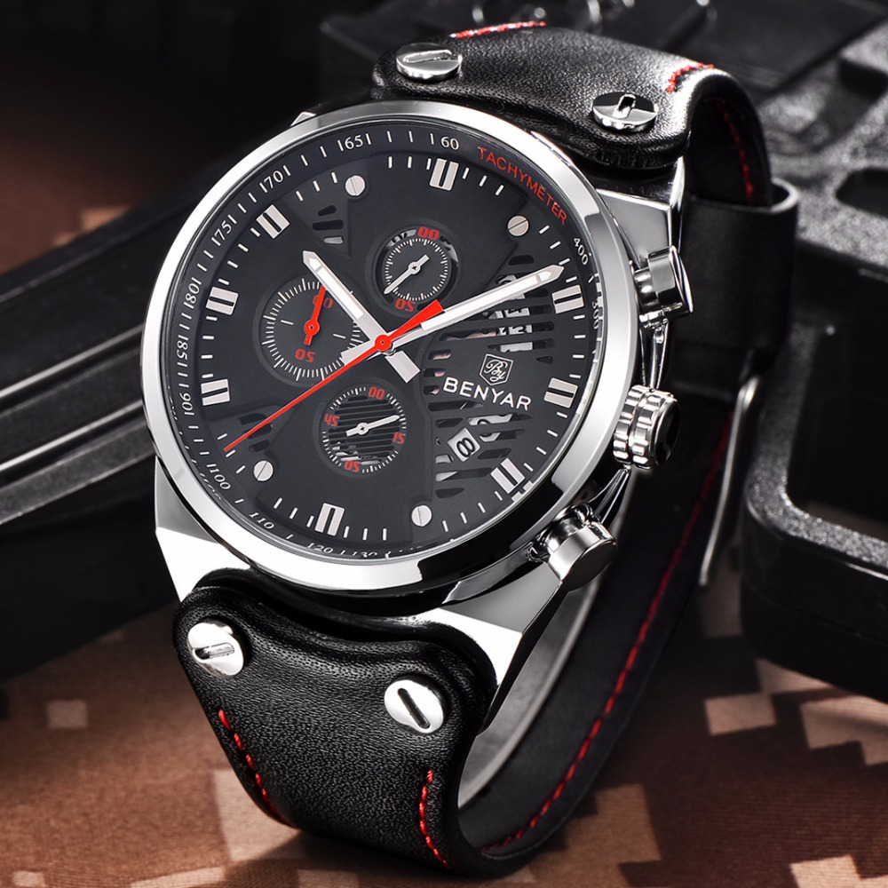 Top luxury brand Mens Fashion Leather Strap Multifunction Watches Men Quartz Watch Waterproof Wristwatch Male Table Clock Reloj top luxury brand mens fashion leather strap multifunction watches men quartz watch waterproof wristwatch male table clock reloj