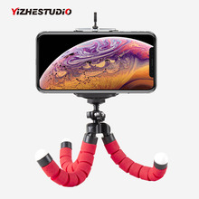 Yizhestudio Мини штативы Гибкая Губка Осьминог штатив для Gopro камера Настольный Штатив для iPhone samsung смартфон клип