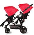 Newstar brand fashion twins baby stroller baby before and after the double wheelbarrow 9 colors export baby pram 2 seats