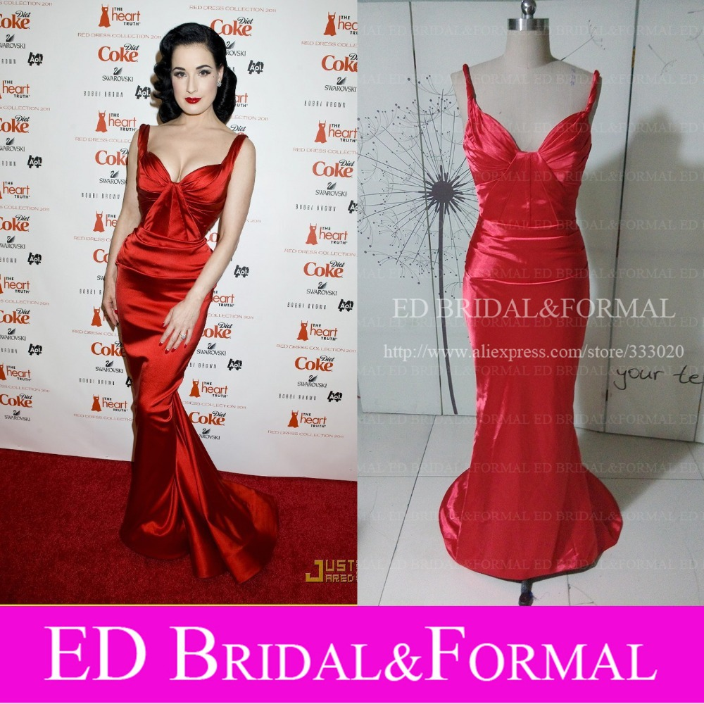 Wedding Dita Von Teese Wedding Dress online buy wholesale dita von teese dresses from china red carpet mermaid prom gown celebrity formal evening dresschina