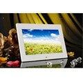 """10 """"polegadas 16:9 HD Digital Photo Frame Álbum Picture MP4 Movie Player Controle Remoto Armação de Plástico 1024*600 Display LCD Da Decoração Da Arte"""