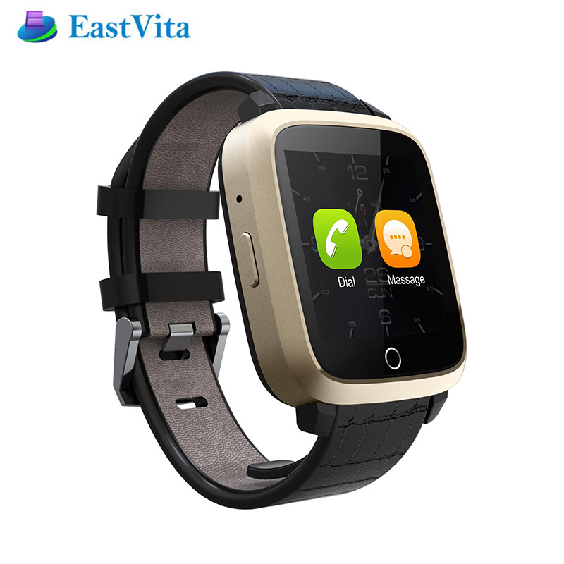 EastVita Smart Watch U11S Bluetooth  Android 5.1 GPS Tracker Monitor 3G WIFI Smartwatch with Camera for IOS Andriod Phone SB025 android 5 1 smartwatch x11 smart watch mtk6580 with pedometer camera 5 0m 3g wifi gps wifi positioning sos card movement watch