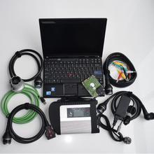 Mb star c4 sd Подключение мультиплексор 5 кабелей диагностический инструмент Ноутбук x201t i7 4g hdd 320gb готов к работе последняя версия