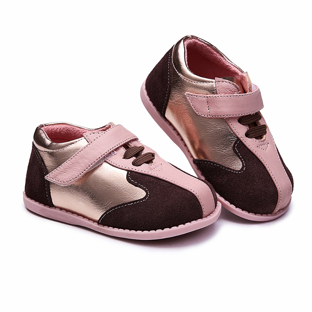 TipsieToes Brand High Quality Genuine Leather Stitching Kids Children Shoes For Boys And Girls 2018 Autumn New Arrival 23343