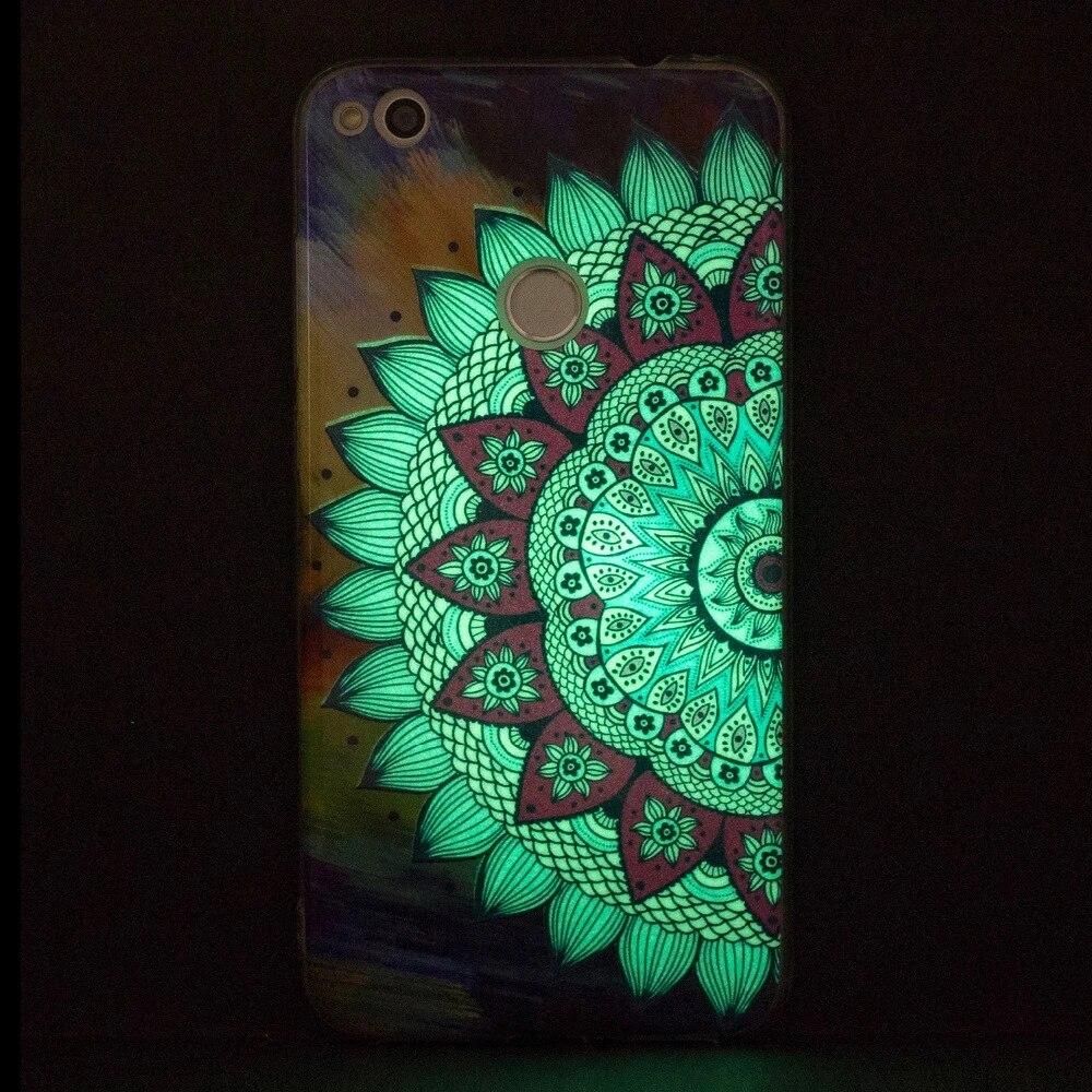 Coque lumineuse licorne pour coque Huawei P8 P9 Lite 2017 couvercle de boitier en silicone pour P9 Lite 2017 Etui de couverture Fundas Telefoon ...