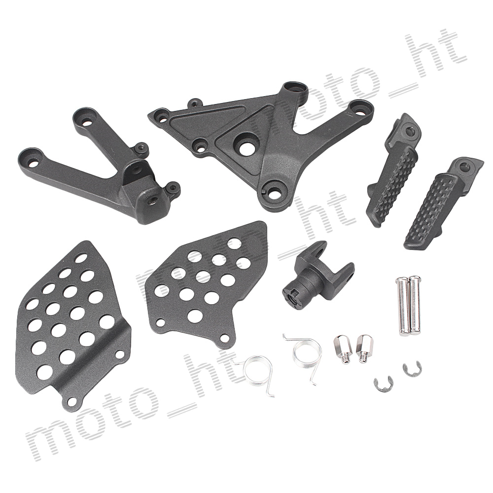 Frames & Fittings Front Passenger Foot Pegs Footrest Bracket For Honda Cbr600rr F5 Cbr 600 Rr 2003 2004 2005 2006 Silver Orders Are Welcome.