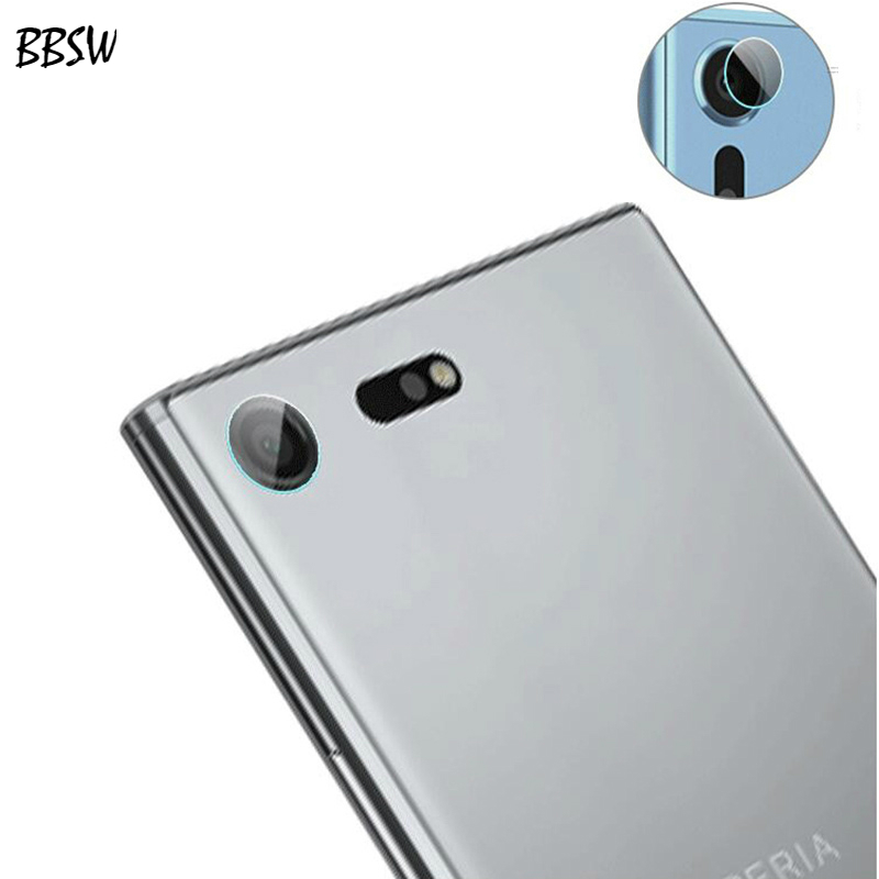BBSW 2PCS For Sony Xperia XZ XZ2 Soft Back Rear Camera Lens Tempered Glass Screen Protector Film for Sony XZ 2 Protective Glass