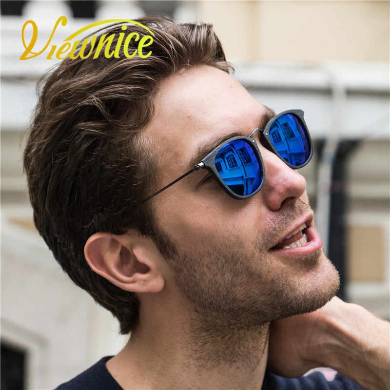 2867ed9636a ... Viewnice Women Sunglasses Wood Polarized Sun Glasses Men Mujer marque  Handmade wooden Eyewear Square Driving Customized ...