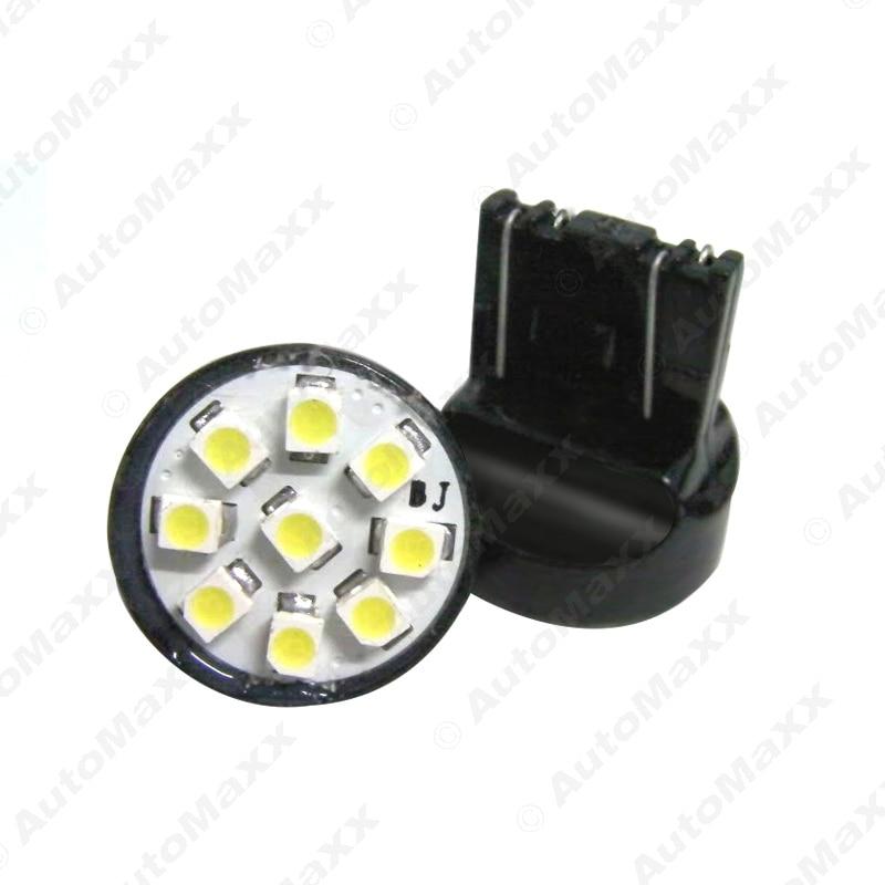 2Pcs White 12V T20 7443 9SMD 1210 Chip Car Tail Turn Signal Brake LED Lights Bulb Lamp #J-1146