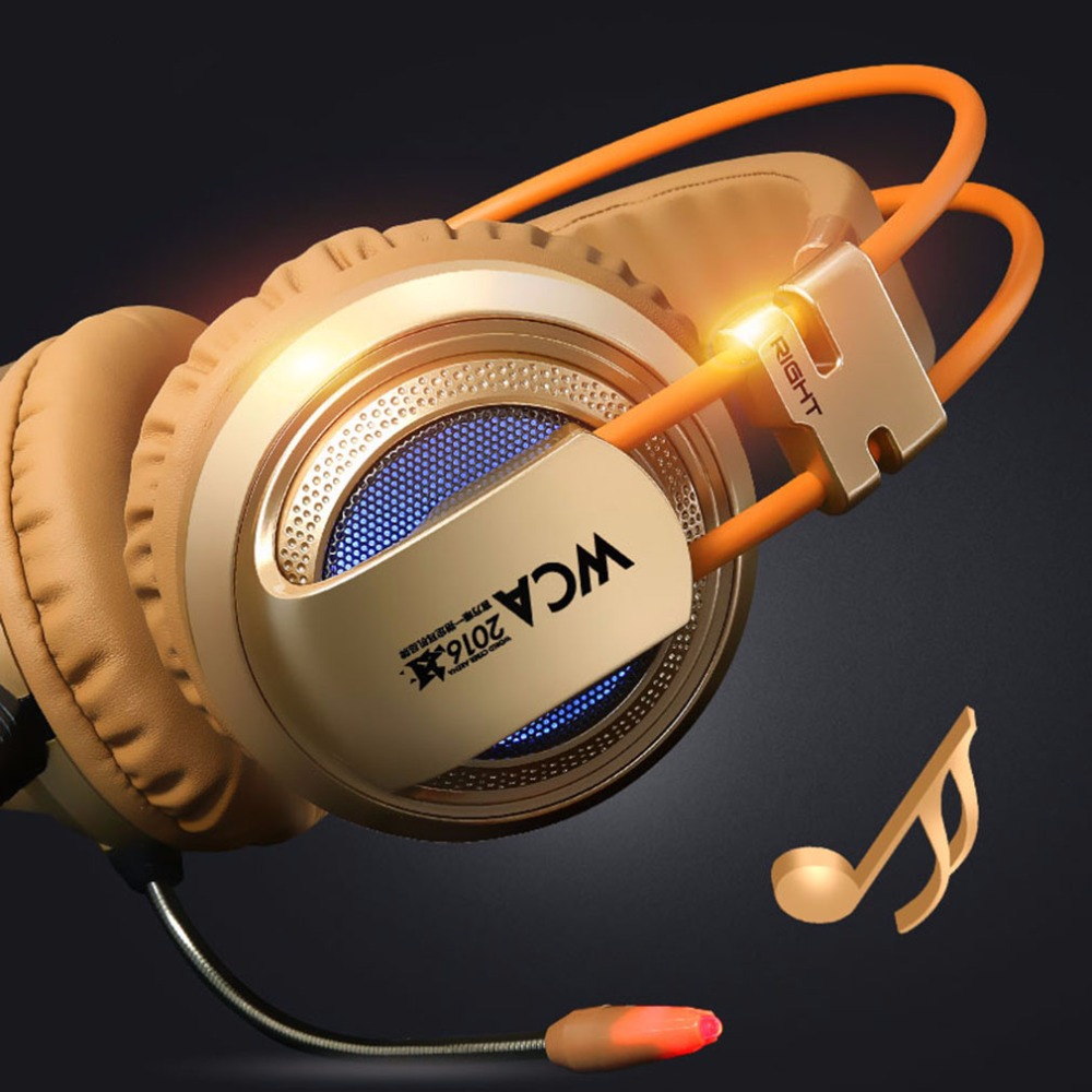 XIBERIA V10 Gaming Headset Headphone Stereo Surrounded With Microphone Headset For PC Desktop Computer Shock Luminescence best computer gaming headset headband with microphone mic xiberia v10 heavy bass stereo game headphone with light for pc gamer