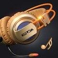 XIBERIA V10 Gaming Headset de Auriculares Estéreo Rodeado Con Auriculares Con Micrófono Para PC de Escritorio del Ordenador Choque Luminiscencia
