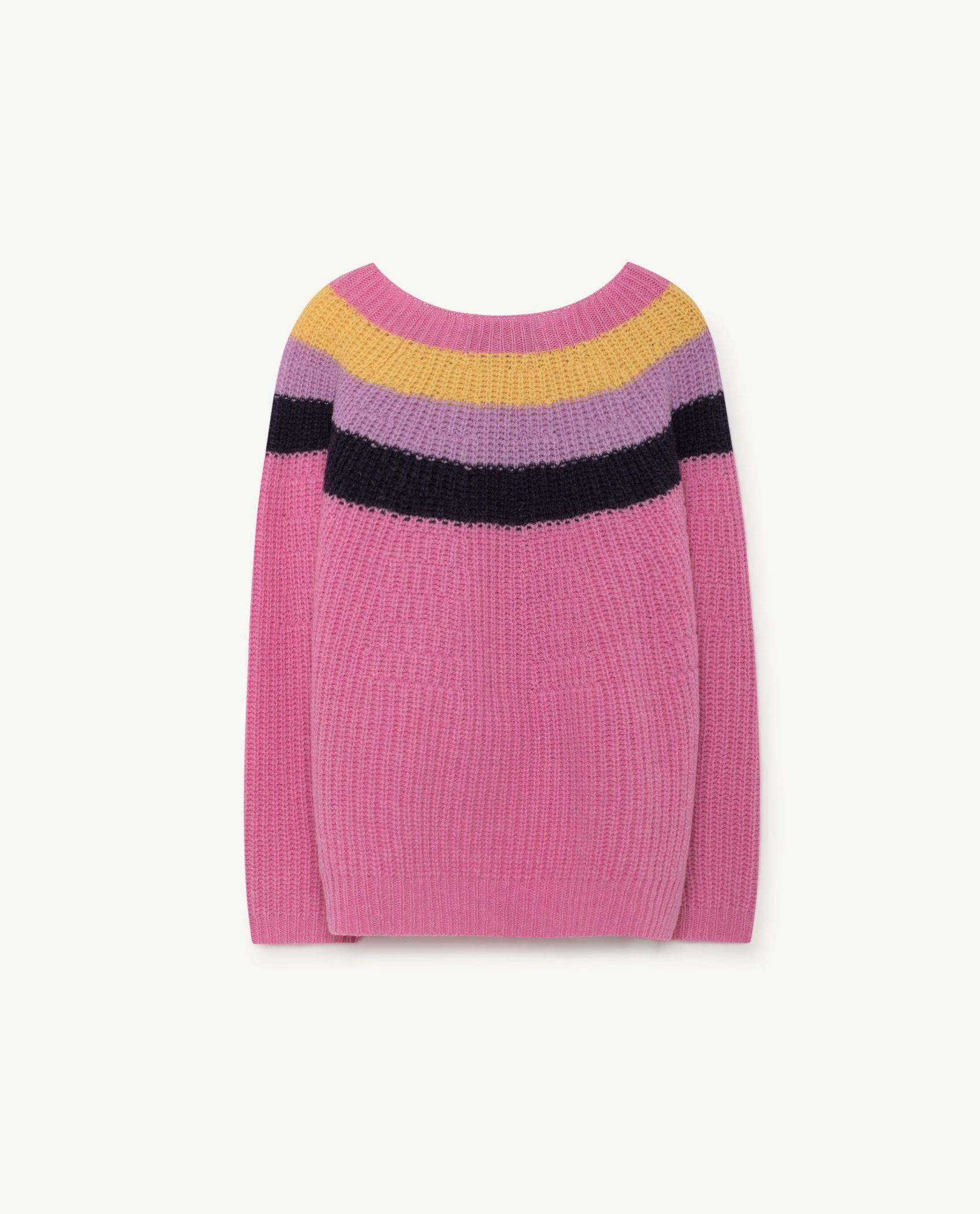 dffac06a5 Kids Knitted Raven Sweater TAO 2018 Baby Boys Girls Knitwear Long ...