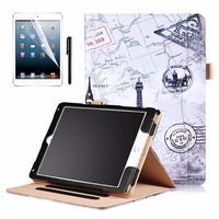 Kemile Ultra Slim Lightweight Smart Case Cover With Card Package Function For New IPad Pro 10