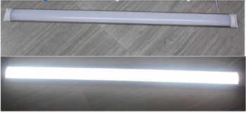 Led Linear Light Tri-proof Clean Purification Tube Light 4ft 36W 1200mm Led Flat Batten Light Led Tube Light Lamp