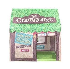 Image 2 - 어린이 텐트 놀이 집 핑크 그린 두 가지 색상 성 텐트 공주 어린이 놀이방 장난감 텐트