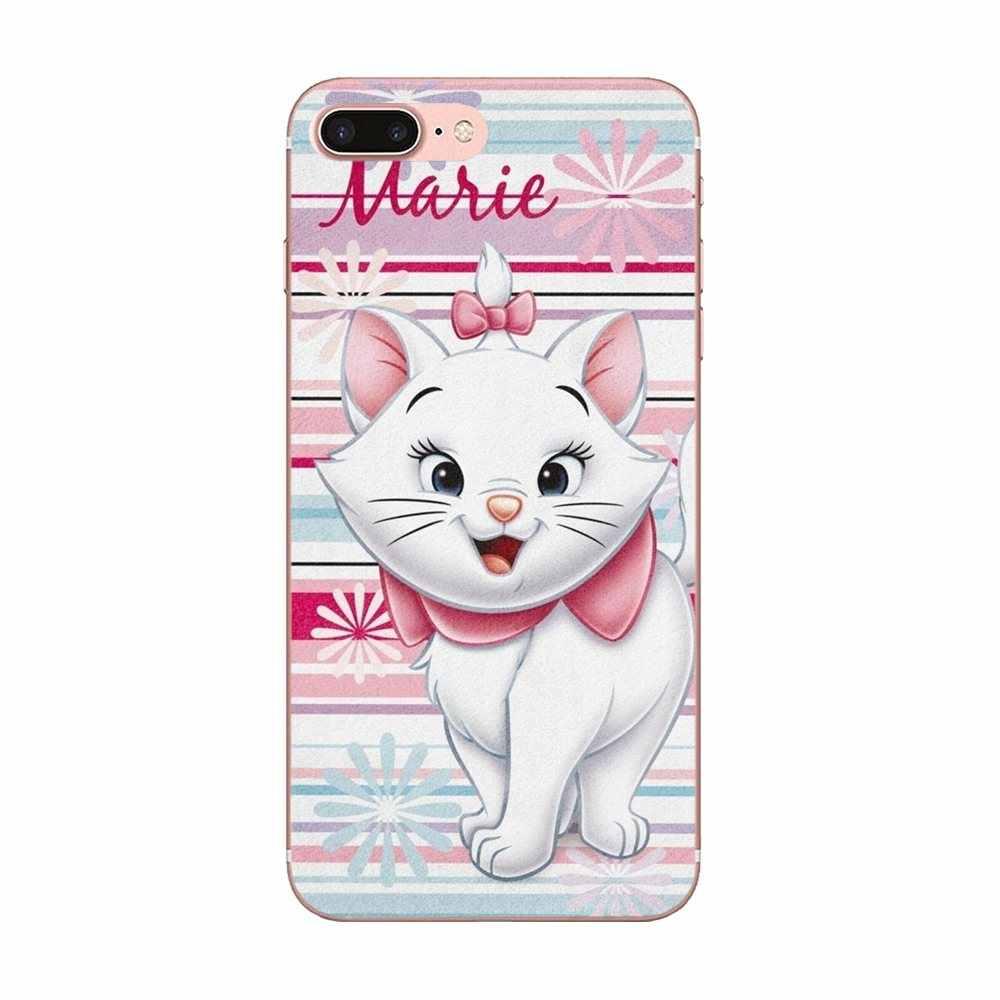 Coque souple TPU Mobile Aristocats chat Kitty pour Xiao mi Note 3 4 mi 3 mi 4 mi 4C mi 4i mi 5 mi 5 S 5X6 6X A1 Max mi x 2