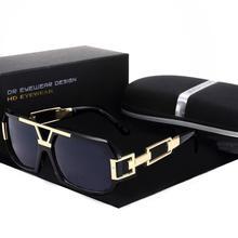 Yvan Metal New Retro Coating Eyewear Women Men Sunglasses Su