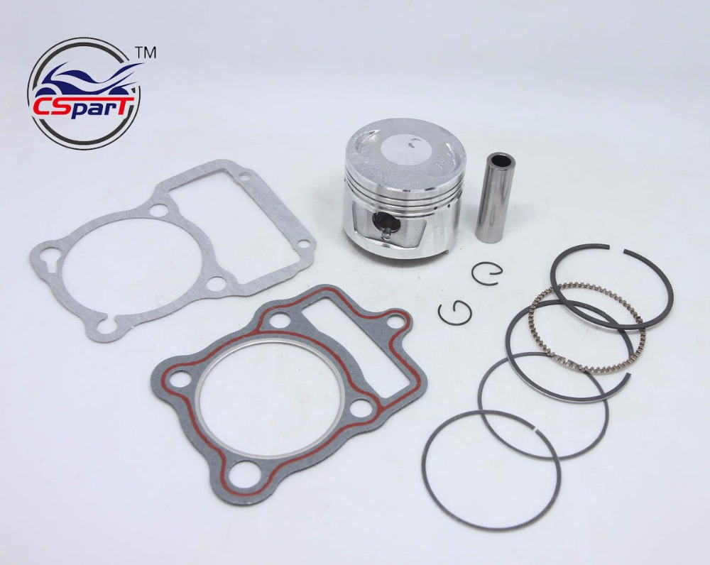 GLF Piston Valve For Honda Motorcycle CG125 Bearings 56.5mm New