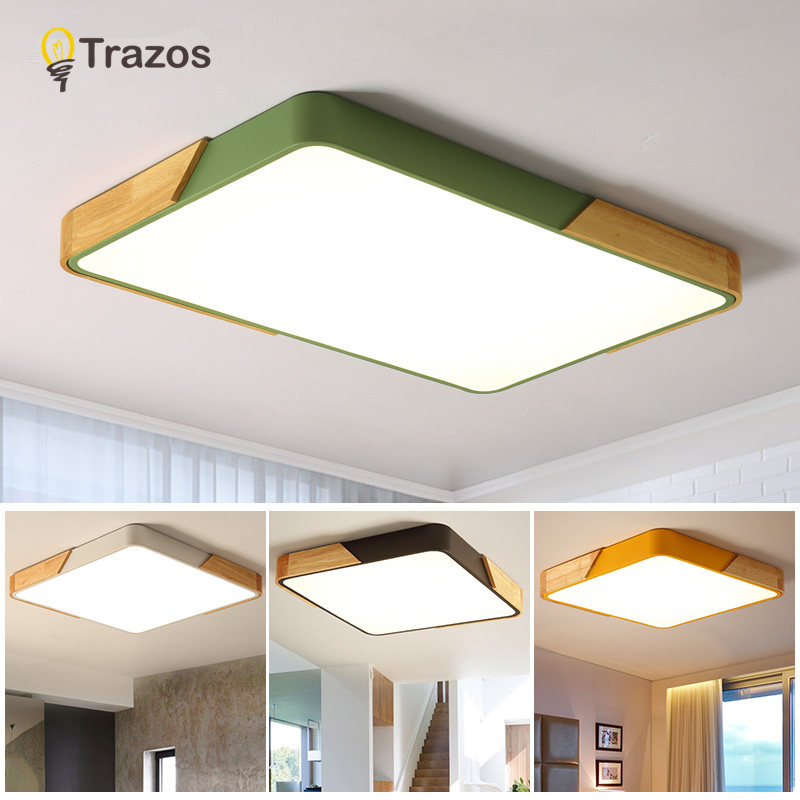Led Ceiling Light Modern Lamp Living Room Lighting Fixture Bedroom Kitchen Surface Mount Flush Panel Remote Control Ceiling Lights Back To Search Resultslights & Lighting