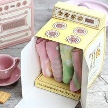 3 colores Nuevo 2018 caja de regalo impresa en horno Vintage caliente, caja de cupcake, caja de favor de fiesta, 150 unids/lote